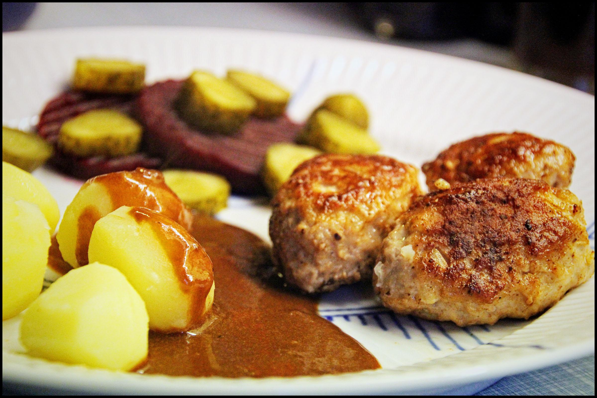brun sauce til frikadeller